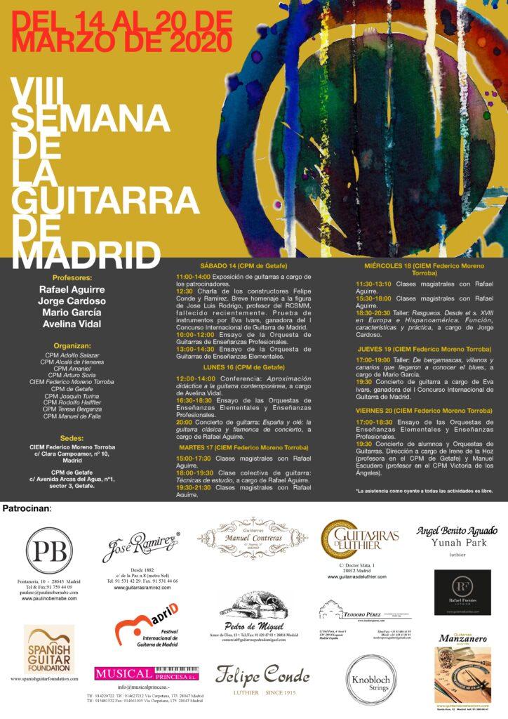VIII Semana de la Guitarra de Madrid